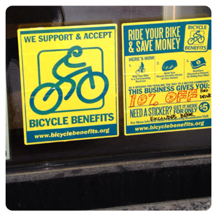BicycleBenefits Businesses Members
